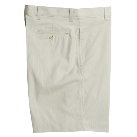 Berle Corduroy Shorts - Flat Front (For Men)