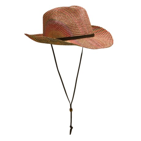 Pistil Roxie Raffia Straw Hat - Faux-Suede Chin Cord (For Women)