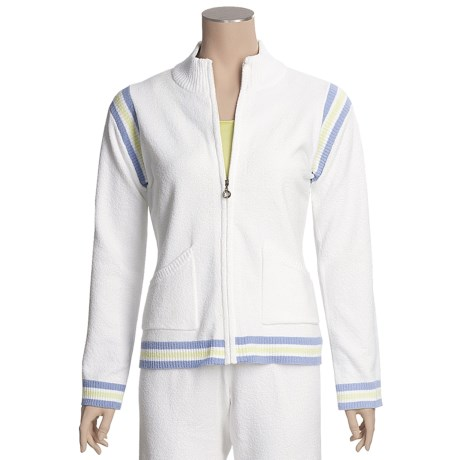 Colorado Clothing Sport Zip Jacket - Micro-Terry (For Women)