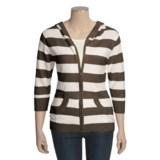 SoyBu Beach Club Zip Jacket - Hooded, 3/4 Sleeve (For Women)