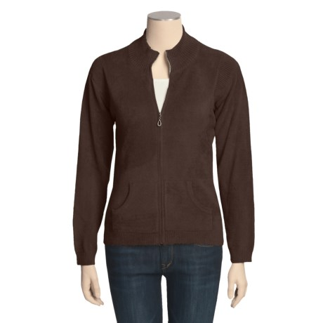SoyBu Mock Neck Jacket - Full Zip (For Women)