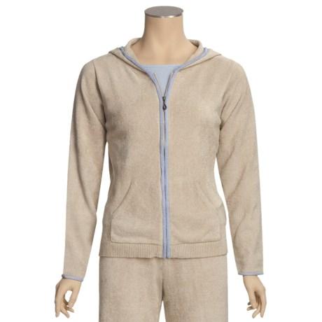 SoyBu Hooded Jacket - Full Zip (For Women)