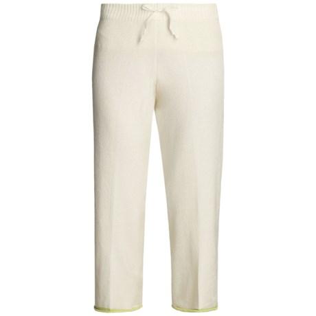 SoyBu Micro-Terry Capri Pants - Drawstring Waist (For Women)