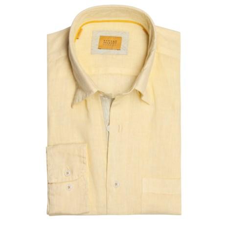 Robert Talbott Linen Sport Shirt - Long Sleeve (For Men)