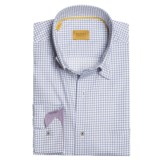 Robert Talbott Cotton Check Sport Shirt - Long Sleeve (For Men)