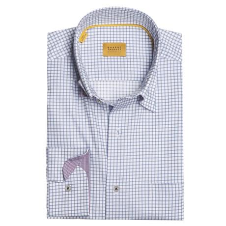Robert Talbott Cotton Check Sport Shirt - Long Sleeve (For Men)
