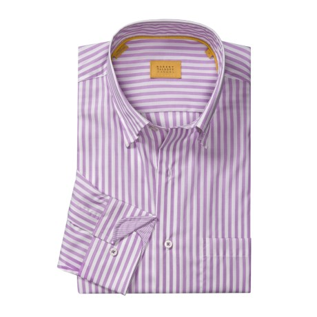 Robert Talbott Awning Stripe Sport Shirt - Long Sleeve (For Men)