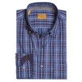 Robert Talbott Plaid Sport Shirt - Long Sleeve (For Men)