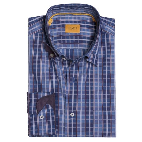 Robert Talbott Plaid Sport Shirt - Long Sleeve (For Men)