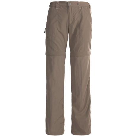 White Sierra Convertible Sierra Point Pants - UPF 30 (For Plus Size Women)