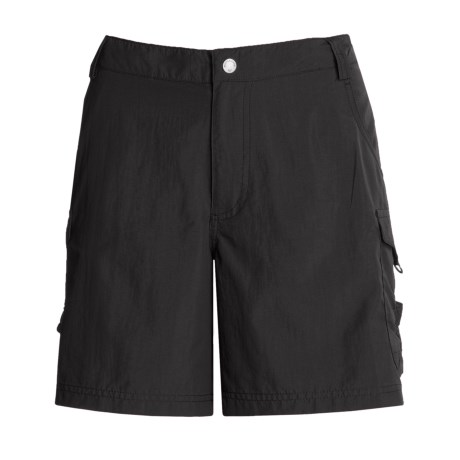 White Sierra Crystal Cove River Shorts - UPF 30 (For Women)