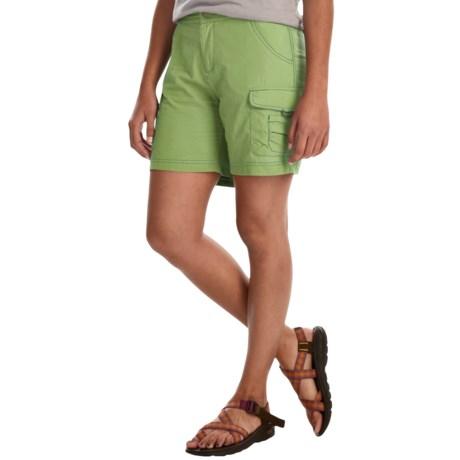 White Sierra Crystal Cove River Shorts - UPF 30 (For Women)