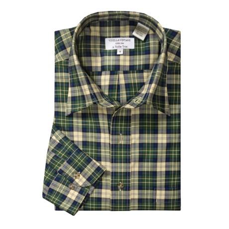 Viyella Plaid Sport Shirt - Button-Down Collar, Cotton Twill, Long Sleeve (For Men)