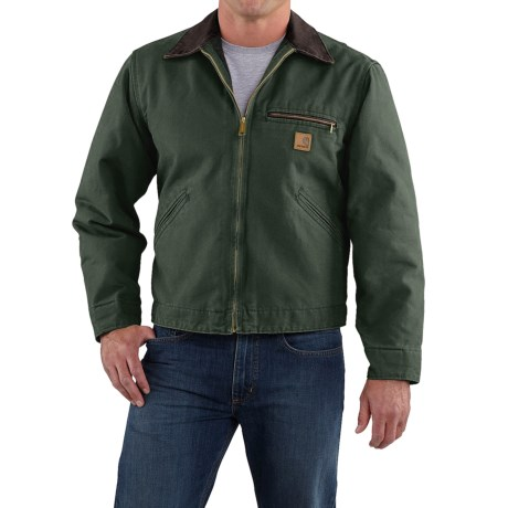 Carhartt Detroit Sandstone Jacket - Blanket Lined, Factory Seconds (For Men)