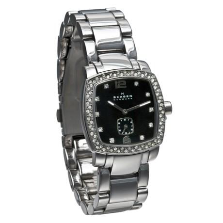 Skagen Shimmering Elegance Watch - Steel Bracelet (For Women)