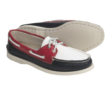 Sperry Top-Sider Cloud Logo Authentic Original Boat Shoes - Leather (For Women)