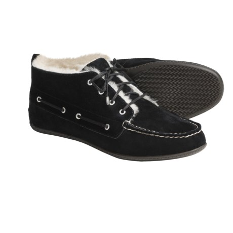 Sperry Top-Sider Bellport Low Boots - Shearling-Lined (For Women)