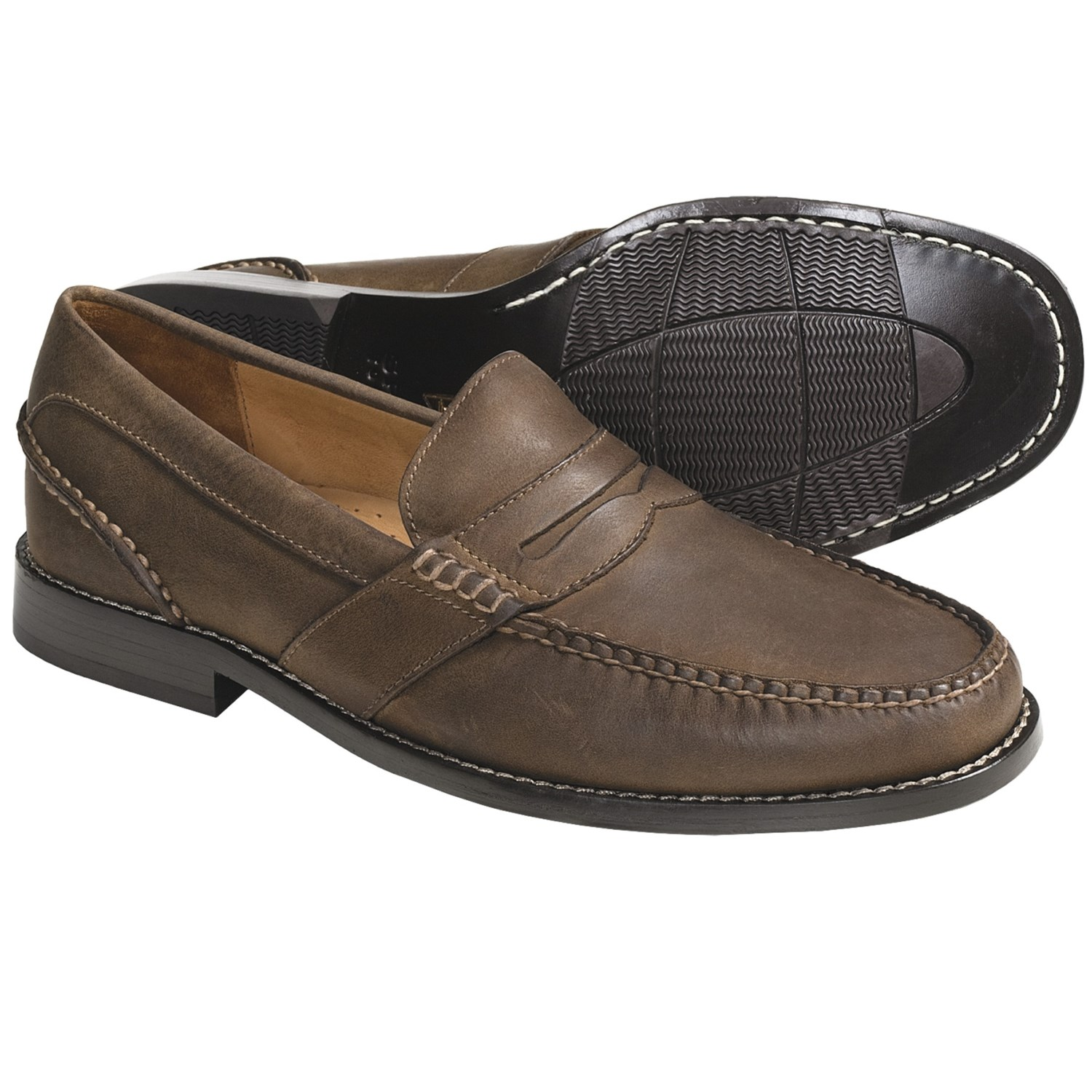 Sperry Leather Penny Loafer Shoes (For Men) 4047V