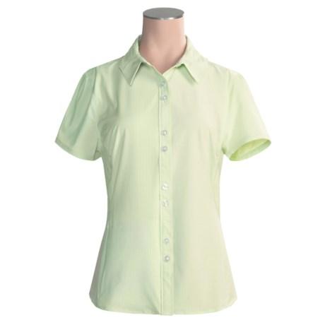 Isis Vineyard Shirt - UPF 30+, Short Sleeve (For Women)