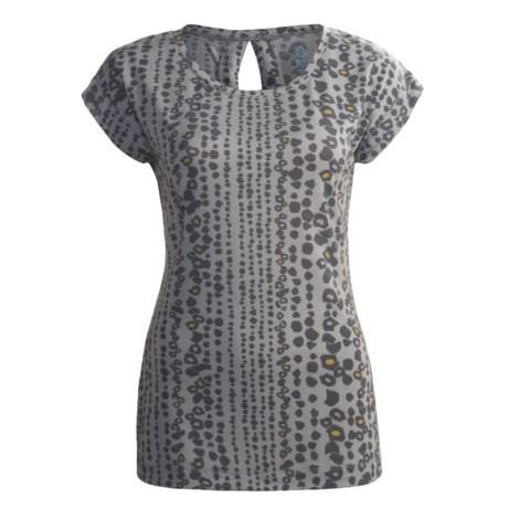 Isis Keyhole T-Shirt - UPF 30+, Short Sleeve (For Women)