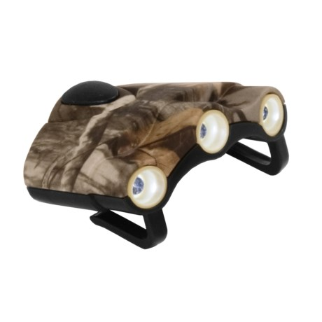 Cyclops Orion LED Hat Clip Light - Realtree® AP® Camo