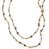 Gemstar Endless Necklace - Mixed Freshwater Pearls, 62""