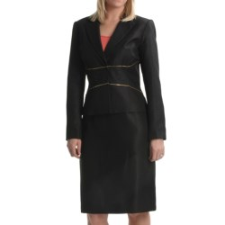 Isabella Textured Dobby Suit (For Women)