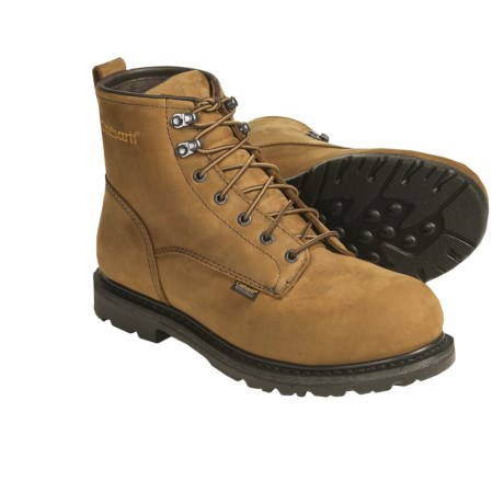 """Carhartt 3905 6"""" Lace-Up Work Boots - Waterproof, Leather (For Men)"""
