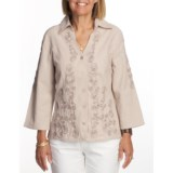 FDJ French Dressing Soutache Shirt - Long Sleeve (For Women)