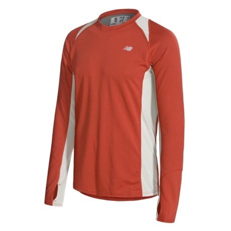 Breathable sun protection new balance cocona shirt for Lightweight breathable long sleeve shirts