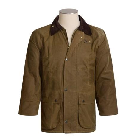 Oxford Blue Gamekeeper Coat (For Men)