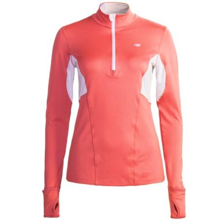 New Balance NBX Shirt - Zip Neck, Long Sleeve (For Women)