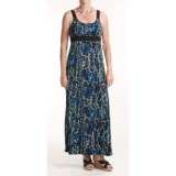 Chetta B Jersey Print Maxi Dress - Straps (For Women)
