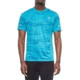 New Balance Run Graphic T-Shirt - Short Sleeve (For Men)