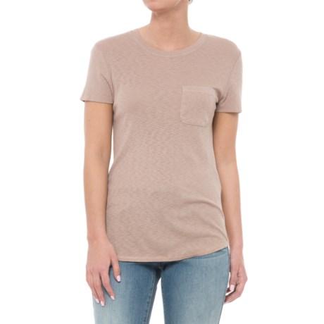 Three Dots Supima®-Micromodal T-Shirt - Short Sleeve (For Women)