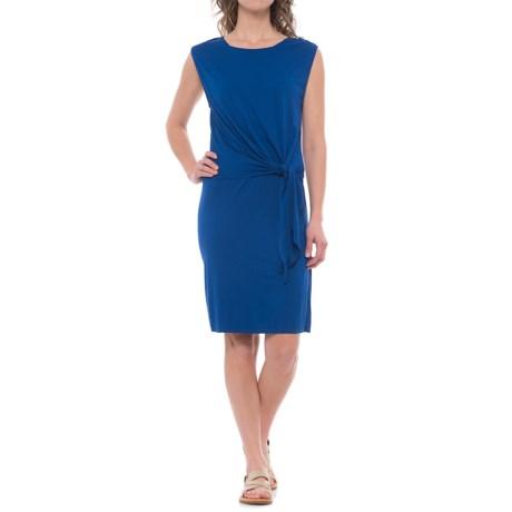 Three Dots Tie Front 2-Fer Dress - Sleeveless (For Women)