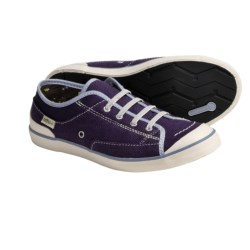 Simple Satire Flat Sneakers - Organic Cotton, Recycled Materials (For Women)