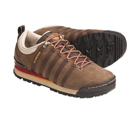 K-Swiss Classic Hiker Shoes - Nubuck (For Men)