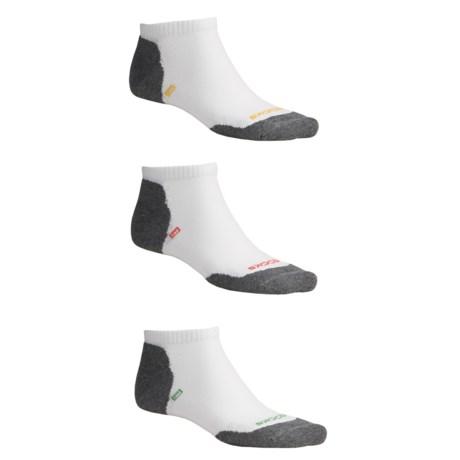 Brooks Versatile No-Show Socks - 3-Pack, Lightweight (For Men and Women)