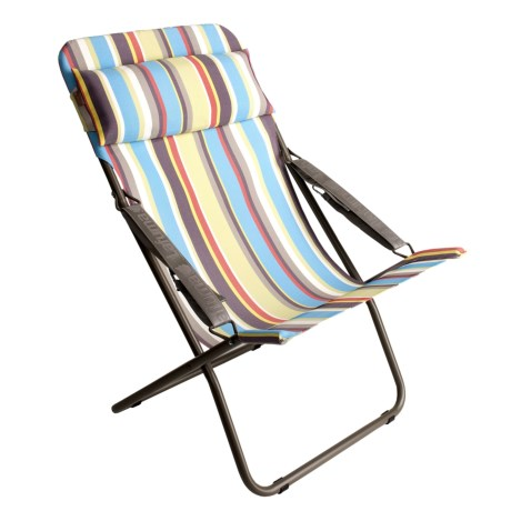 Lafuma Transabed XL Folding Lounge Chair - Batyline® Stripes