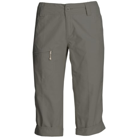 White Sierra Ridgecrest Capri Pants - UPF 15 (For Women)