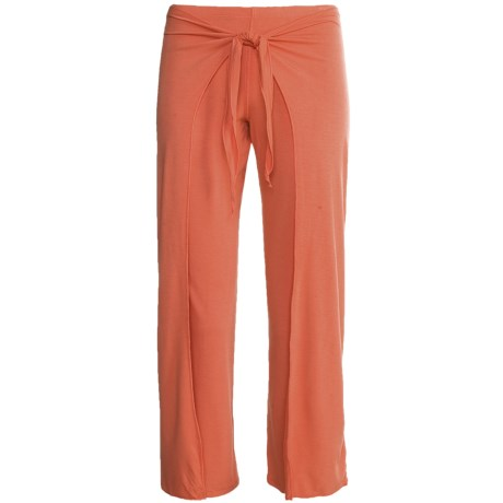 prAna Malia Mahdia Capri Pants- Mock Wrap Overlay (For Women)