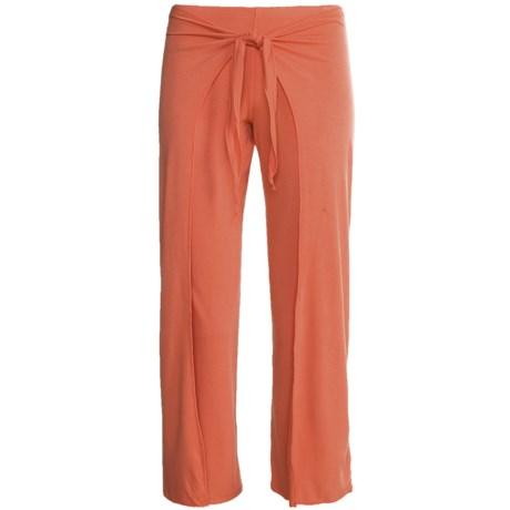 prAna Malia Mahdia Capri Pants- Mock Wrap Overlay (For Women)