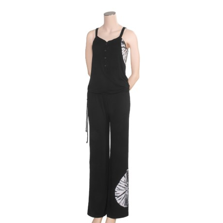 prAna Bianca Mahdia Jumpsuit - Henley Button (For Women)