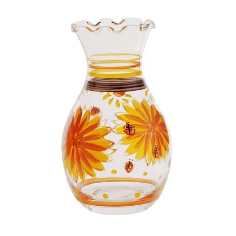 Hand-Painted Bud Vase