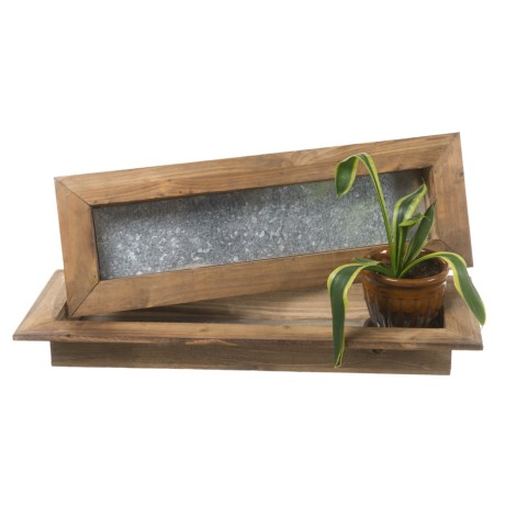 Pd Home & Garden Skinny Planters - Set of 2