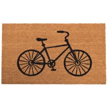 """Madison Home Bicycle Door Mat - 20x34"""""""