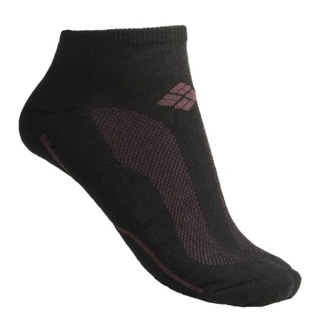 Columbia Sportswear Midtown Maven No-Show Socks - Merino Wool, Lightweight (For Women)