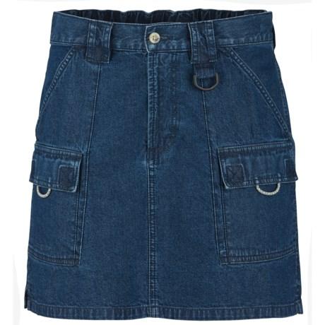 Columbia Sportswear PFG Denim Brewha II Skirt - UPF 50 (For Women)
