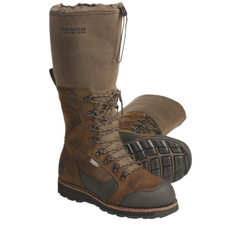 """Irish Setter Wingshooter DSS Viper Hunting Boots - Waterproof,  17"""" (For Men)"""